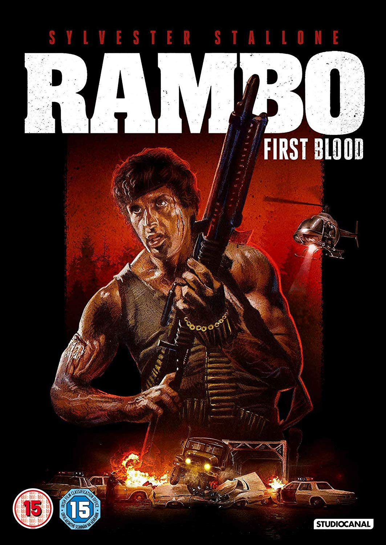 Rambo: First Blood Edizione: Regno Unito Italia DVD: Amazon.es: Sylvester Stallone, Richard Crenna, Brian Dennehy, Bill McKinney, Jack Starrett, Michael Talbott, Chris Mulkey, John McLiam, Alf Humphreys, David Caruso, Ted Kotcheff: Cine