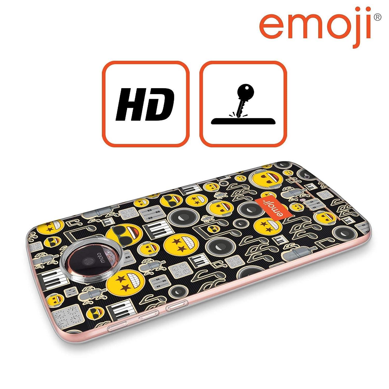 Amazon.com: Official Emoji Smileys Patterns 5 Soft Gel Case ...