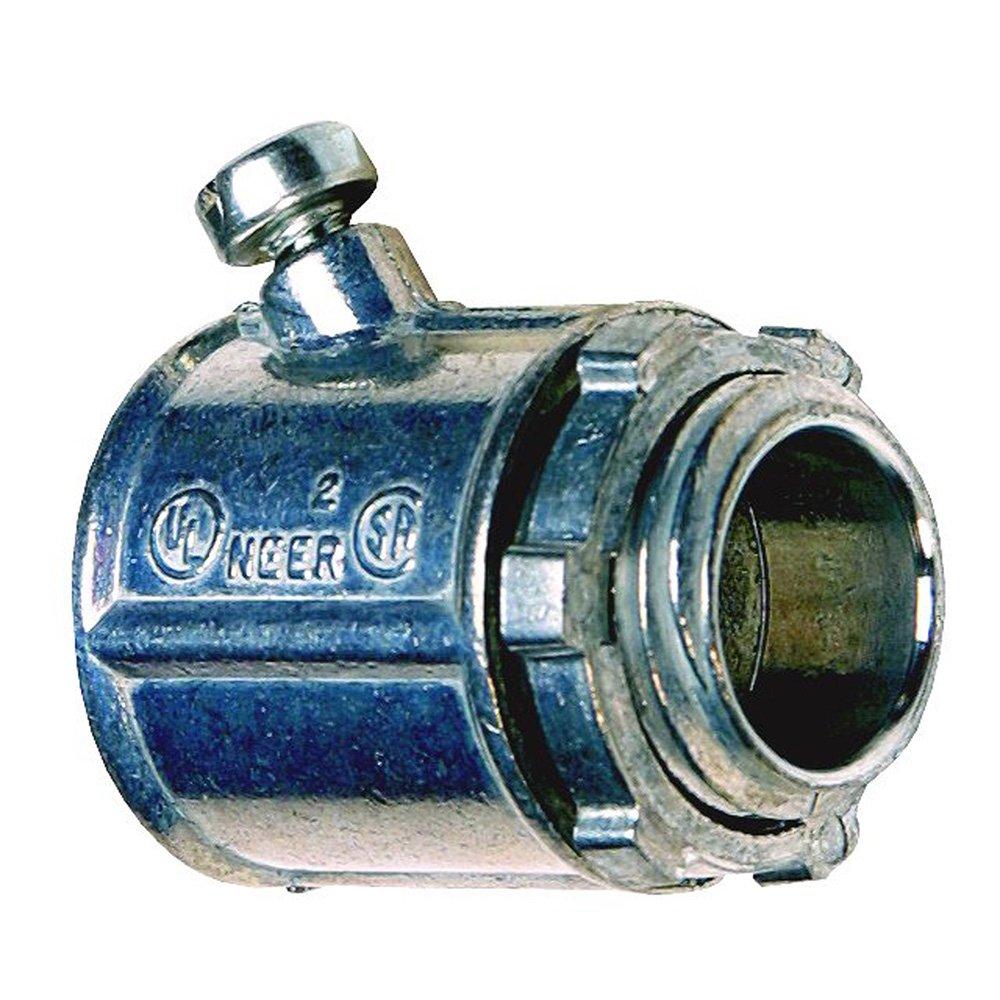 Sigma Electric 44090 BX/MC/FLEX 1/2-Inch Set Screw Connector, 3-Pack