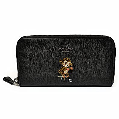 online retailer d152b 0e147 Amazon | (コーチ)COACH 財布 長財布 F57390 QB/BK ベースマン ...