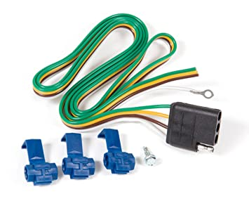 71Oj7gzSvkL._SX355_ amazon com reese towpower 78058 trailer wiring kit automotive reese wiring harness at mifinder.co