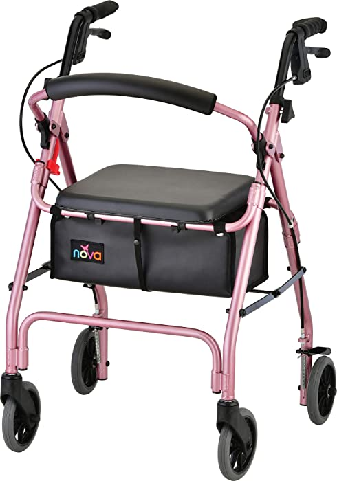 The Best Home Medical Supplies Pink Walker