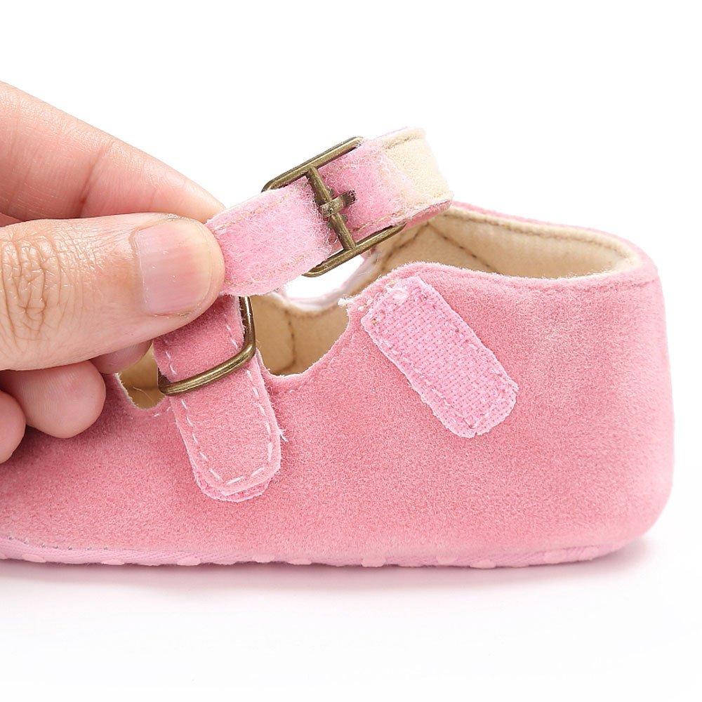 Kirbaez Unisex Newborn Baby Boys Girls Soft Crib Sole Shoes Flat Single Shoes