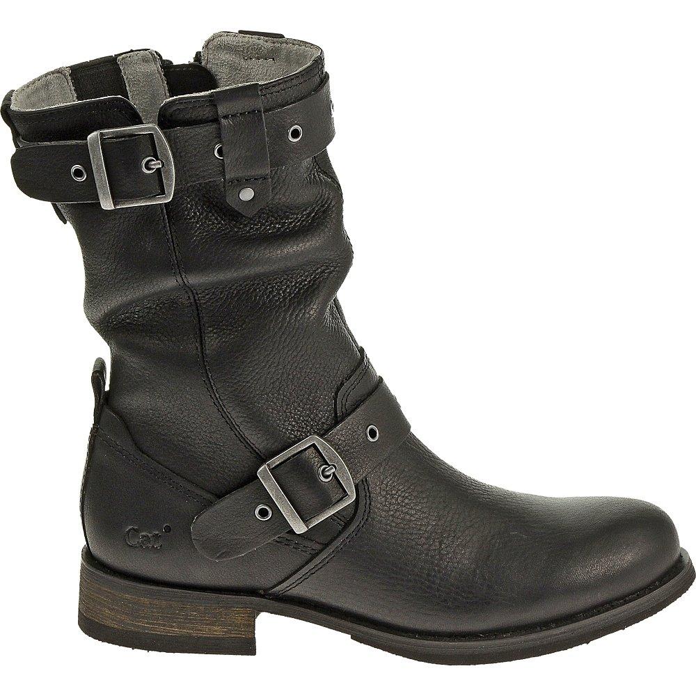 Caterpillar Women's Midi Engineer Boot, Black, 8 M US
