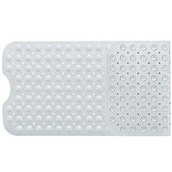 norcho tapis de baignoire de bain de scurit antidrapant extra long anti glisse pour salle de - Tapis Baignoire