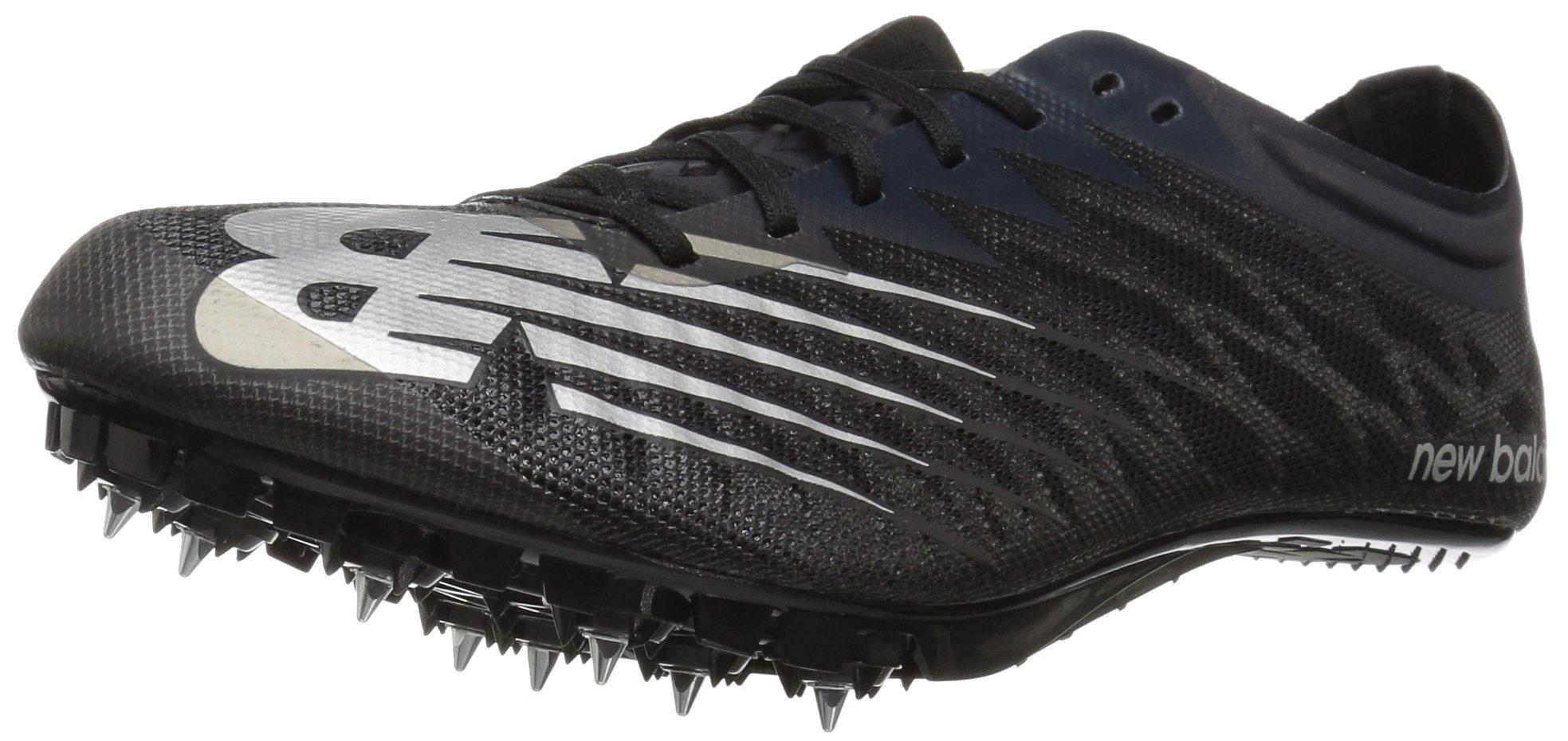 New Balance Men's Vazee Verge v1 Track Shoe, Black/Silver, 9.5 D US by New Balance