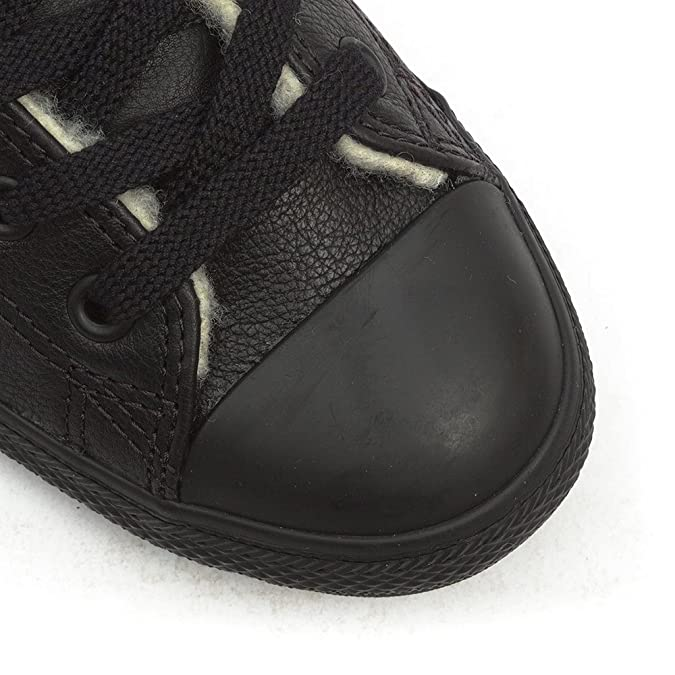 Converse All Star Dainty Leather Mid Black - 35 EU evP7O6eW49