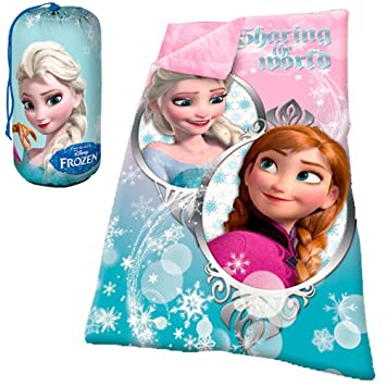 Saco dormir Frozen Disney Sharing the world: Amazon.es: Juguetes y juegos