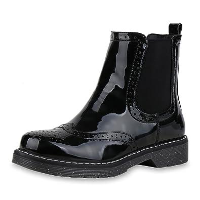 SCARPE VITA Damen Stiefeletten Chelsea Boots