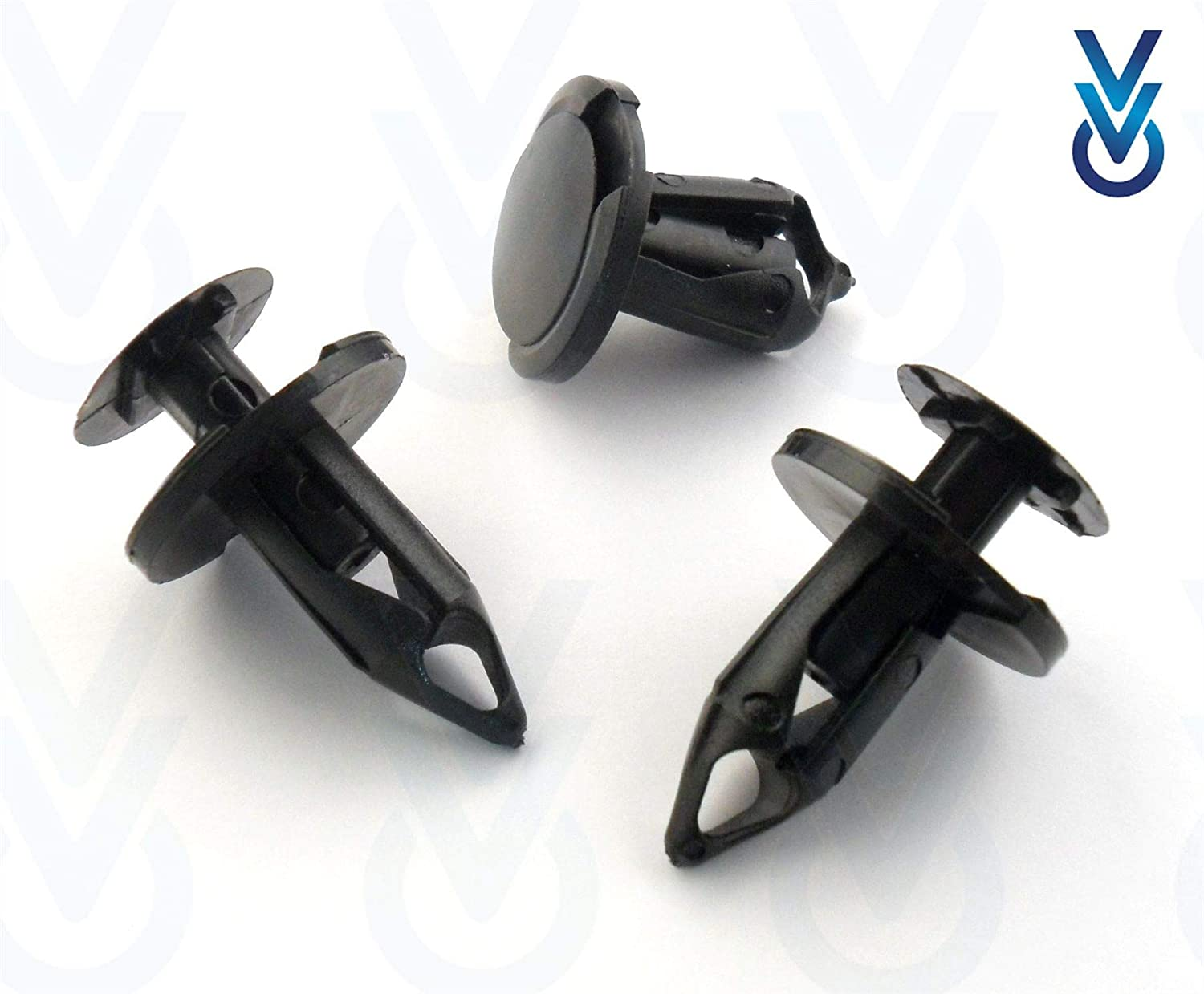 10x VVO® Vauxhall Front Bumper Clips /& Trim Fasteners 21030249