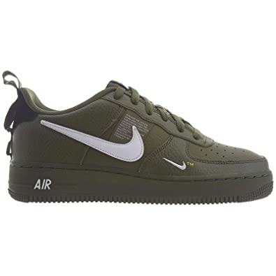 NIKE Air Force 1 Low Utility Olive Canvas (GS) ar1708 300 ...