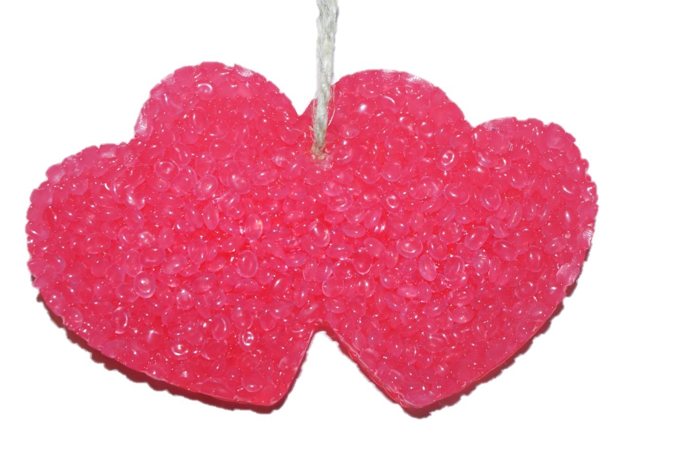 ChicWick Car Candle Love Spell Heart Shape Car Freshener Fragrance