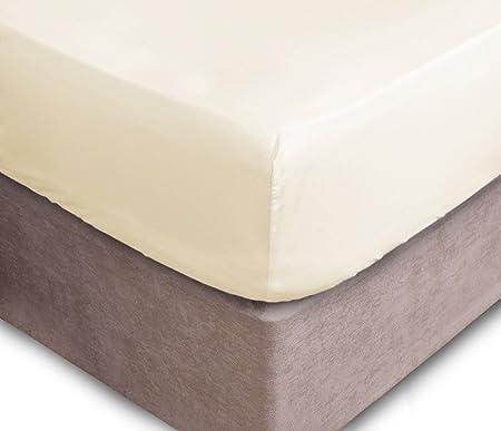 Drap Jersey 100//% coton 90-100x200 cm naturel Drap-housse hauteur de bonnet jusqu/à 25/cm Diverses tailles et couleurs disponibles STANDARD /ÖKO-TEX