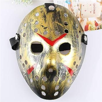 Dream Loom Jason Máscara, Disfraz de Halloween Cosplay Máscara de ...