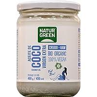 NaturGreen Aceite de Coco Bio, Virgen Extra, Ideal para Cocinar, Hidrata Piel y Cabello, Ingredientes Naturales, Apto…