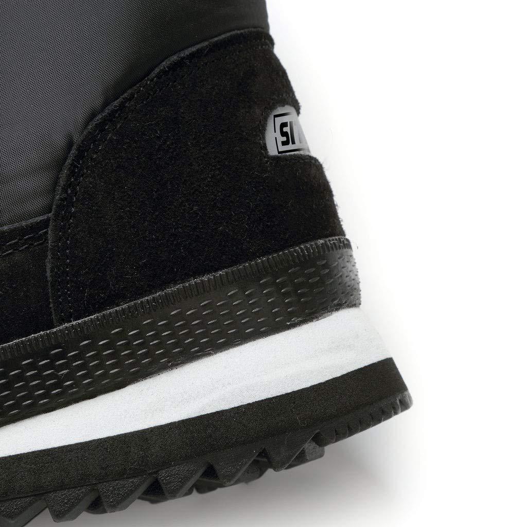 MrTom Botas de Nieve Mujer Invierno Forro Calentar Plataforma Calzado de Trabajo Altas Lluvia Impermeable Planas Botines Mujer Piel Corto Fondo Grueso Zapatos Casual Snow Boots Al Aire Libre