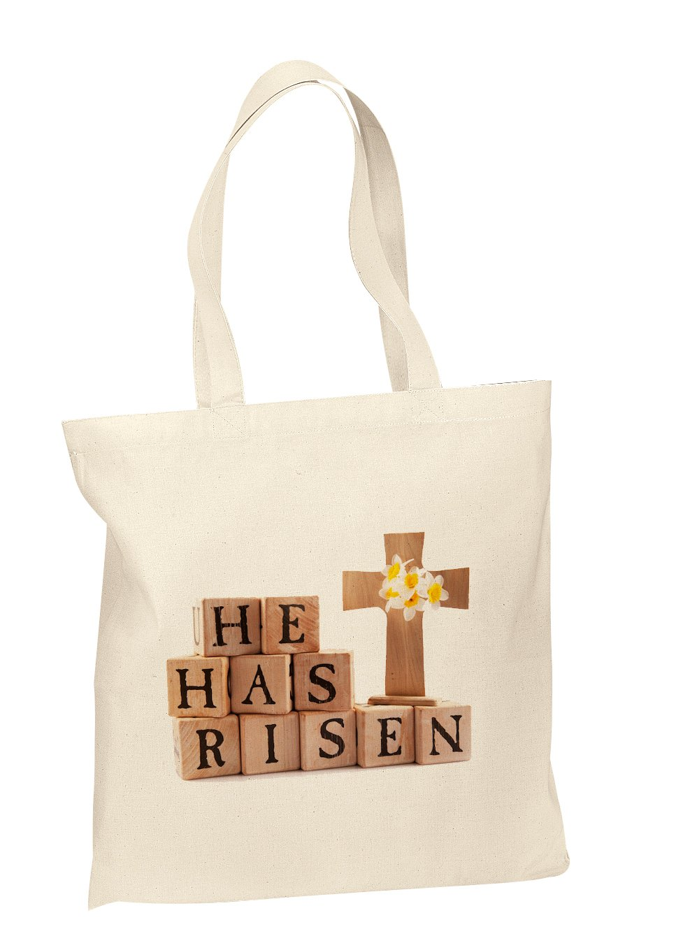 Amazon cotton tote bags custom easter gift bags easter tote amazon cotton tote bags custom easter gift bags easter tote bag he has risen religious easter bag handmade negle Images
