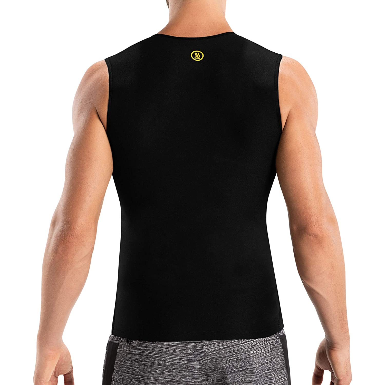Hot Shapers Hot Tank for Men – Slimming Workout Tank Top – Mens Slimming  Body Shaper – Compression Shirt for Workouts – Tank Top for Men –  Compression