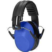 AmazonBasics Kids Ear Protection Safety Noise Earmuffs, Blue