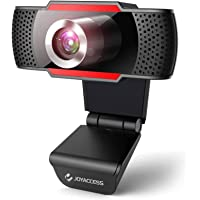 Webcam 1080P HD with Microphone,USB Desktop Laptop Webcam-Noise Reduction Mic, 105°Wide-Angle View for Streaming, Zoom…