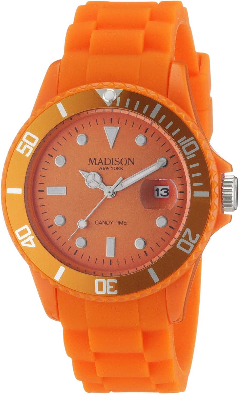 Madison New York Reloj Unisex Cuarzo analógico