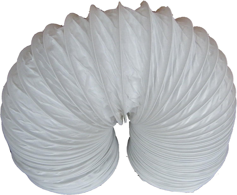 "6 metre length PVC Flexible Ducting 6/"" 150mm"