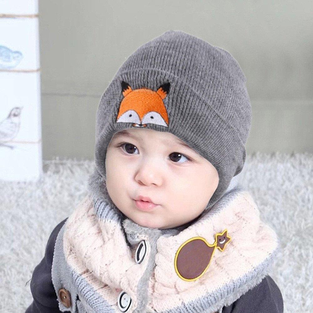 Huangou Kids Winter Beanies Warm Cold Weather Hats for Boys Girls Children Wholesale School Outdoors Bulk Gift
