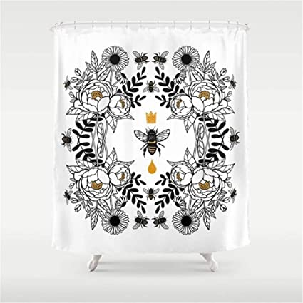 I Like Exercise Queen Bee Shower Curtain 60quot