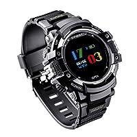 Orologio Sportivo GPS, GOKOO Smartwatch Orologio Intelligente All'aperto con Pedometro, Altimetro, Barometro, Bussola, Termometro, Cardiofrequenzimetro, Monitor Di Sonno per Uomo e Donna, Tracker Attività per Android e IOS Phones