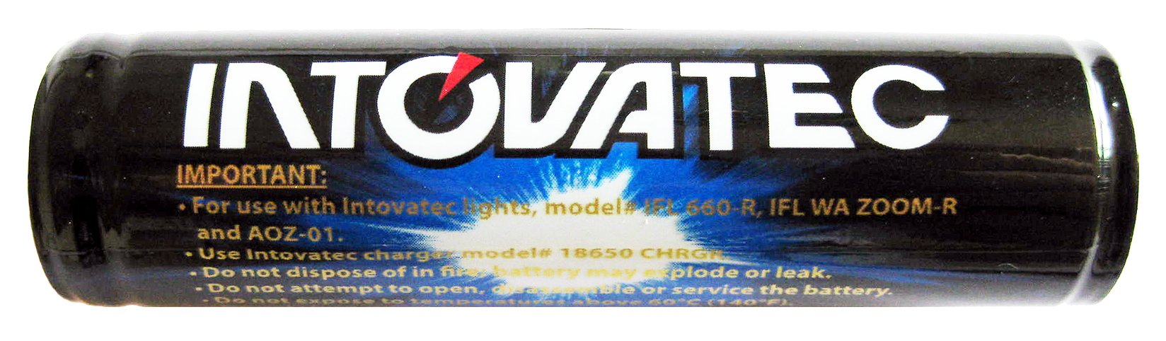 Intova 18650 Li-ion Battery for Action Video Light