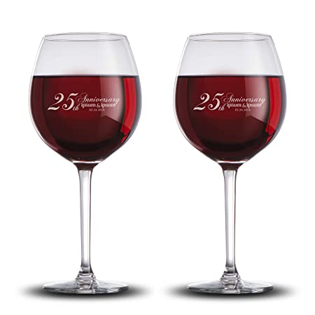 Review Personalized Wine Glasses for