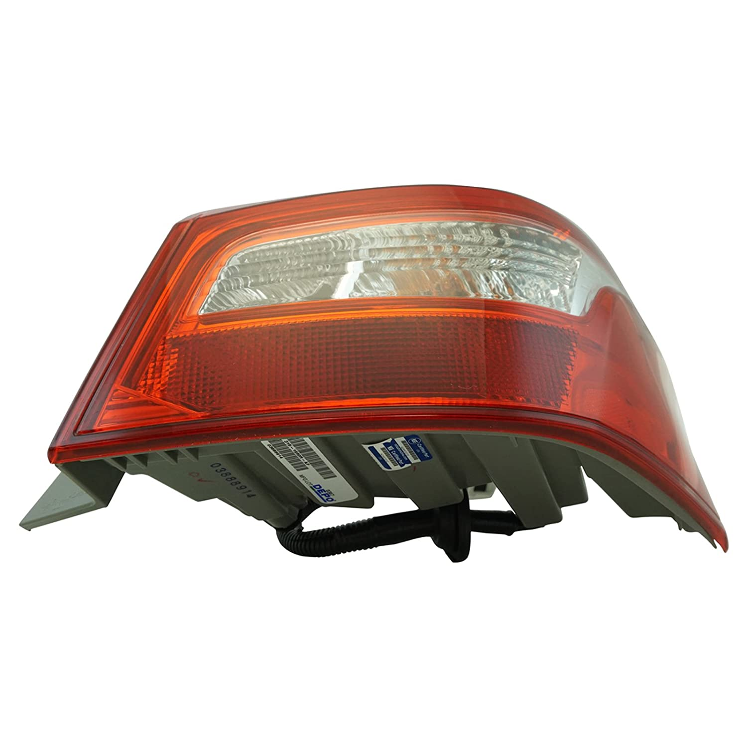 Outer Tail Light Lamp Assembly LH RH Kit Pair Set of 2 for Nissan Sentra New