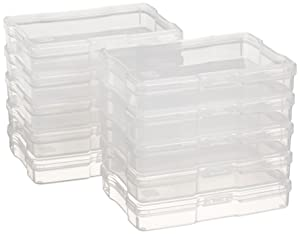 """IRIS USA, Inc. KP-PC Photo and Craft Case, 10 Pack, 4"""" x 6"""", Clear, Count"""