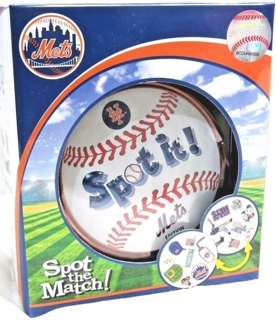 Masterpieces New York Mets Spot it Game