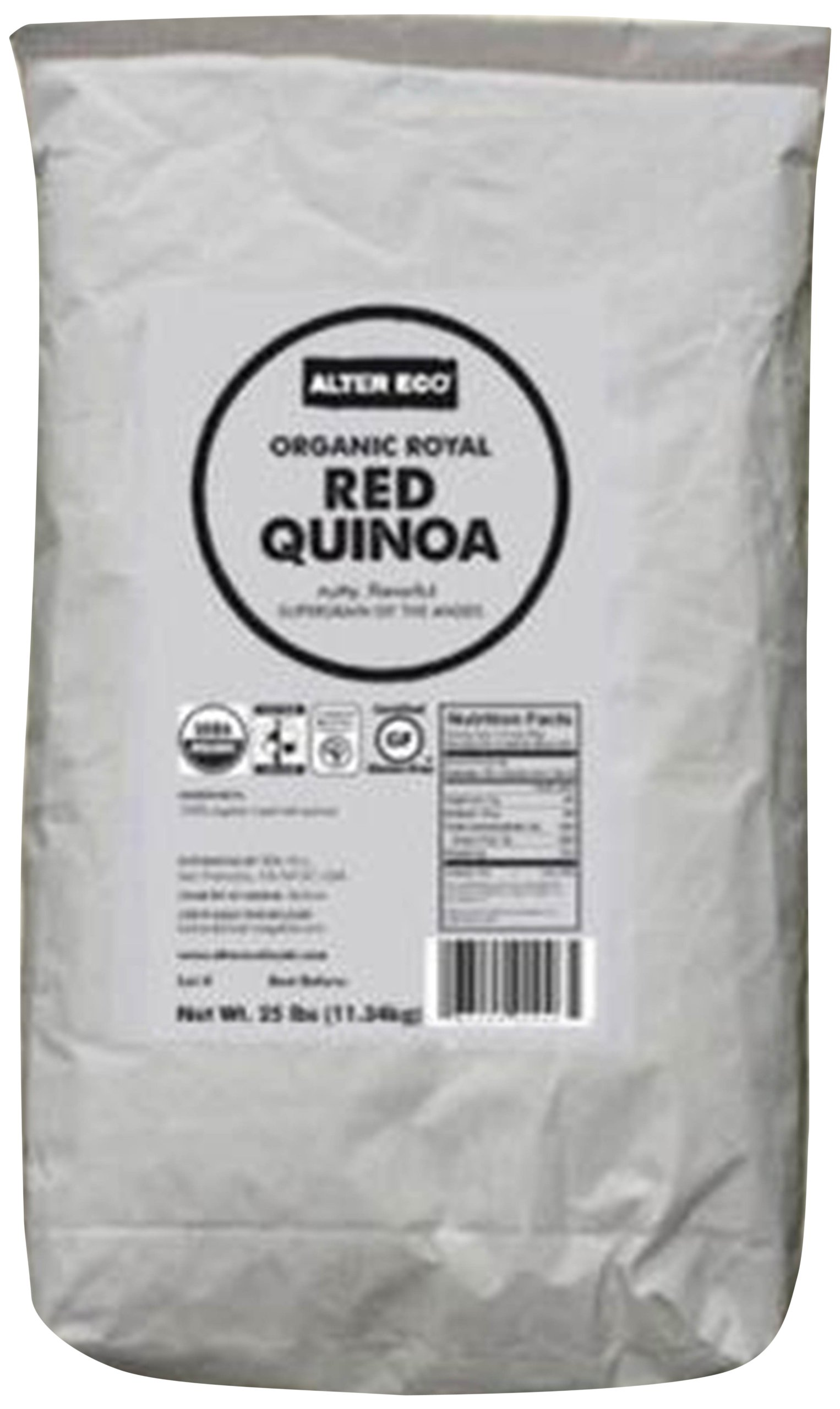 Alter Eco - Organic Royal Red Quinoa - 25 lb