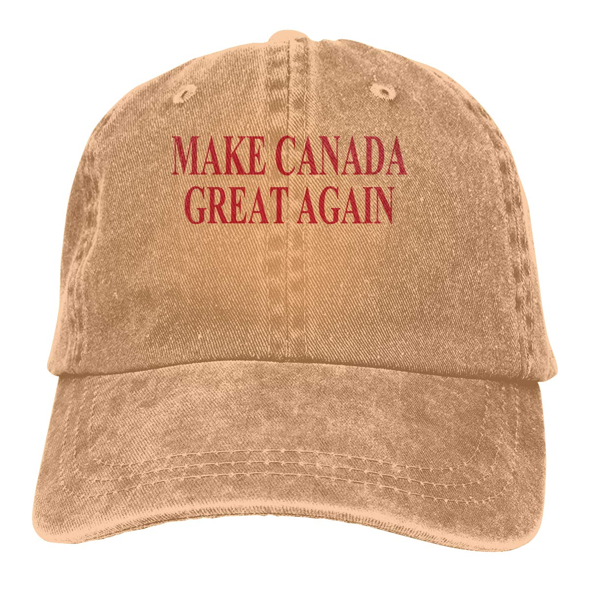 PMGM-C Make Canada Great Again Unisex Personalize Jeans Outdoor Sports Hat Adjustable Baseball Cap