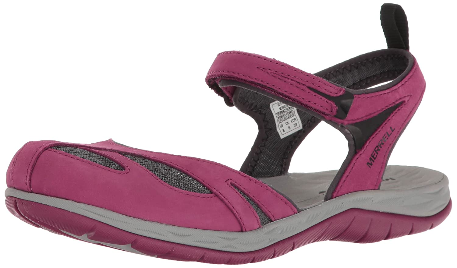 Merrell Women's Siren Wrap Q2 Athletic Sandal B01HGW62PG 7 B(M) US|Beet Red