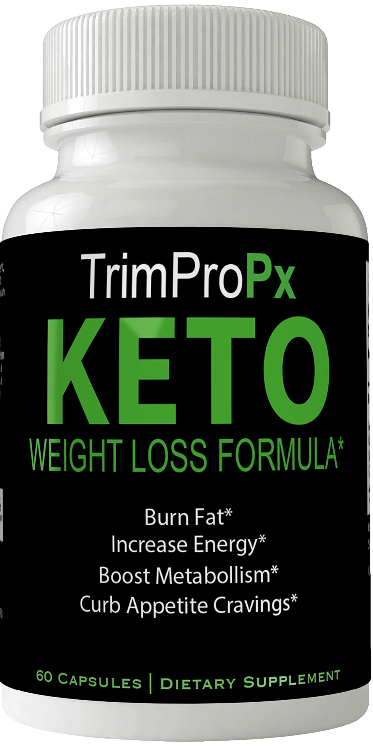 Trim Pro PX Keto Pills Weight Loss Supplement, Appetite Suppressant with Ultra Advanced Natural Ketogenic Capsules, 800 mg TrimPX Formula with BHB Salts Ketone Diet Boost Metabolism and Pulls Focus