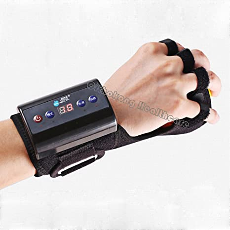 Amazon.com: Plug-ins Electric Finger Massager Device Drop Wrist Trainer Infrared Handheld Finger Rehabilitation Training Machine Chargeable Finger Separate ...