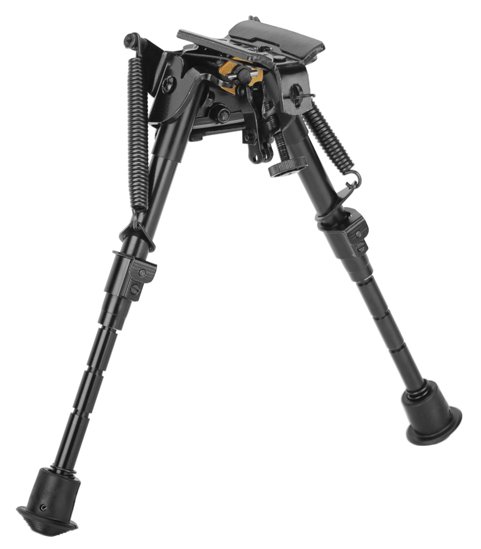 Caldwell XLA Pivot Bipod with Adjustable Notched Legs and Slim Folding Design for Easy Transport, Rifle Stability, and Target Shooting