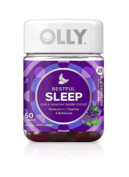 OLLY Restful Sleep Blackberry Zen - 50 Count by Olly