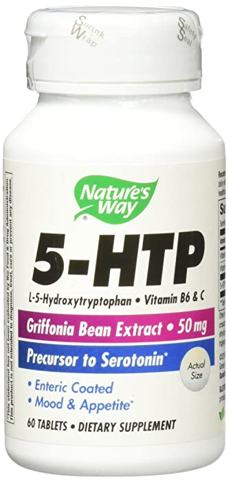 Nature's Way - 5-HTP 50 mg 60 tabs(2 Pack)