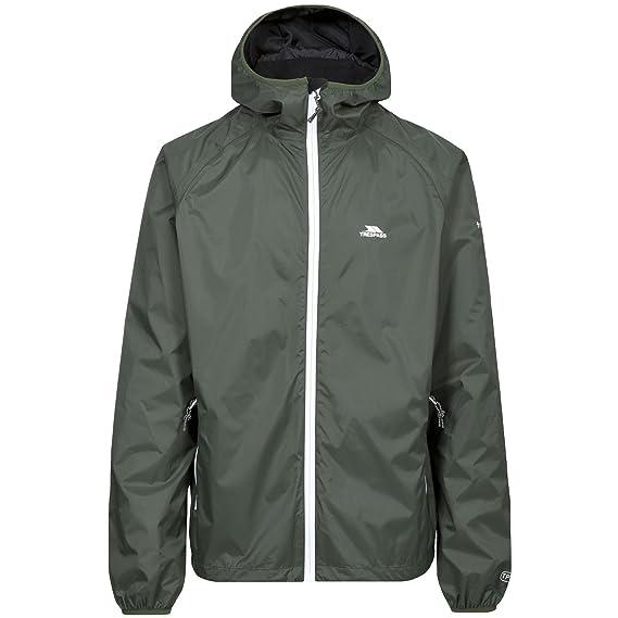 80fb4b050 Trespass Mens Rocco II Waterproof Jacket (XXL) (Thyme): Amazon.co.uk:  Clothing
