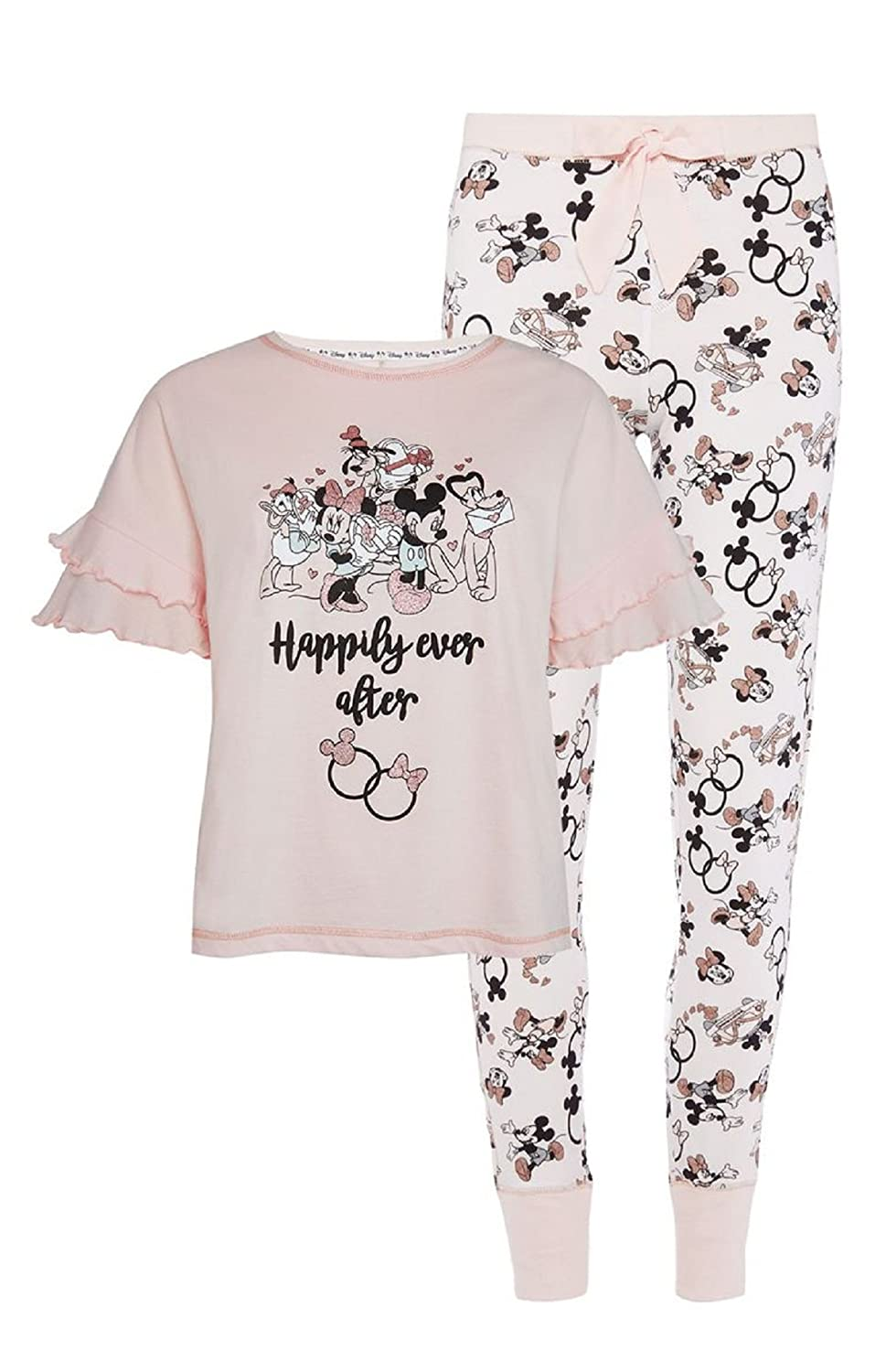 7ce859705413 Primark Ladies Girls Women s Disney Mickey Minnie Mouse Happily Ever ...