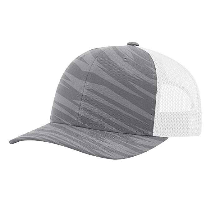 c211101908ae31 Image Unavailable. Image not available for. Color: Twill Mesh Back Trucker  Snapback Hat ...