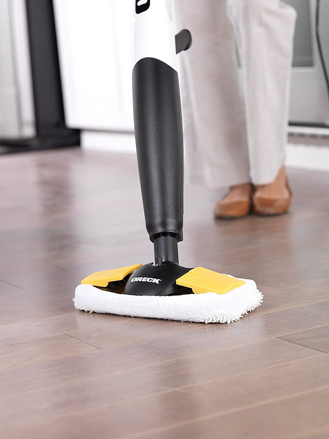 Kitchen Floor Mop Amazoncom Oreck Steam It Steam Mop Steam100lrh Floor Cleaners