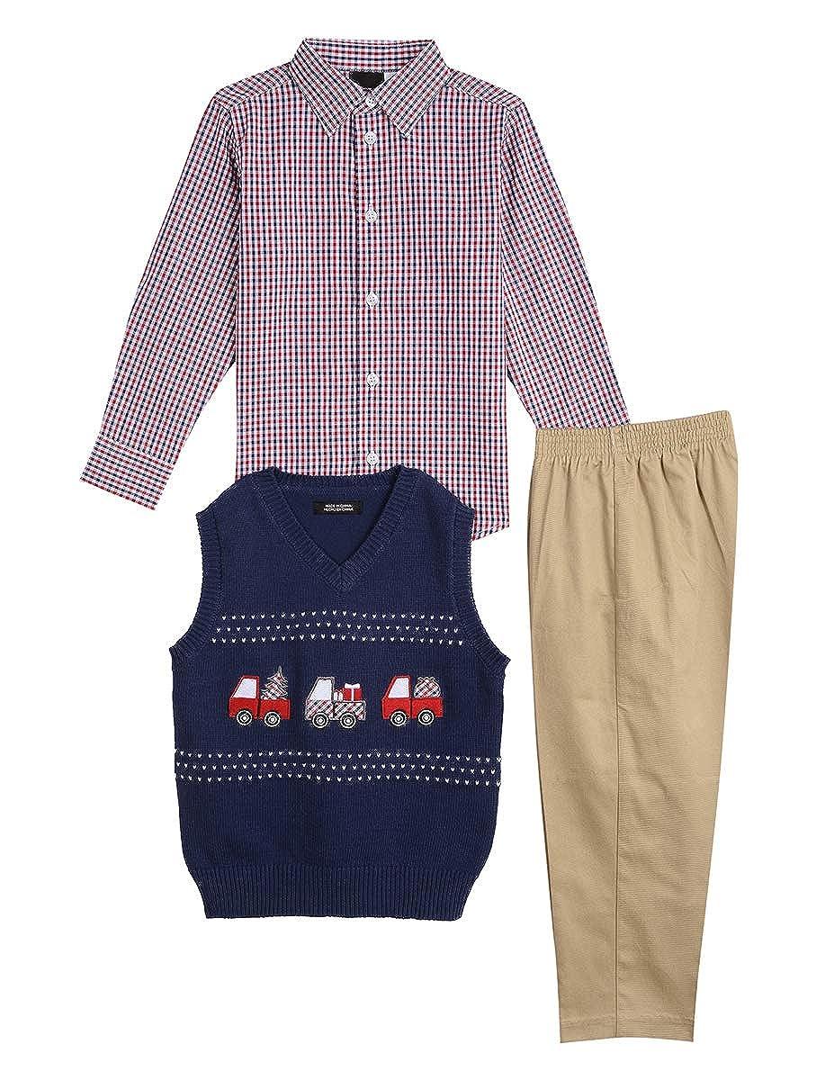 TFW Dresswear Little Boys Sweater Vest Set
