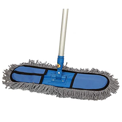 MARC Wet & Dry Floor mop Grey Best Quality 2 feet mop Head: Amazon ...