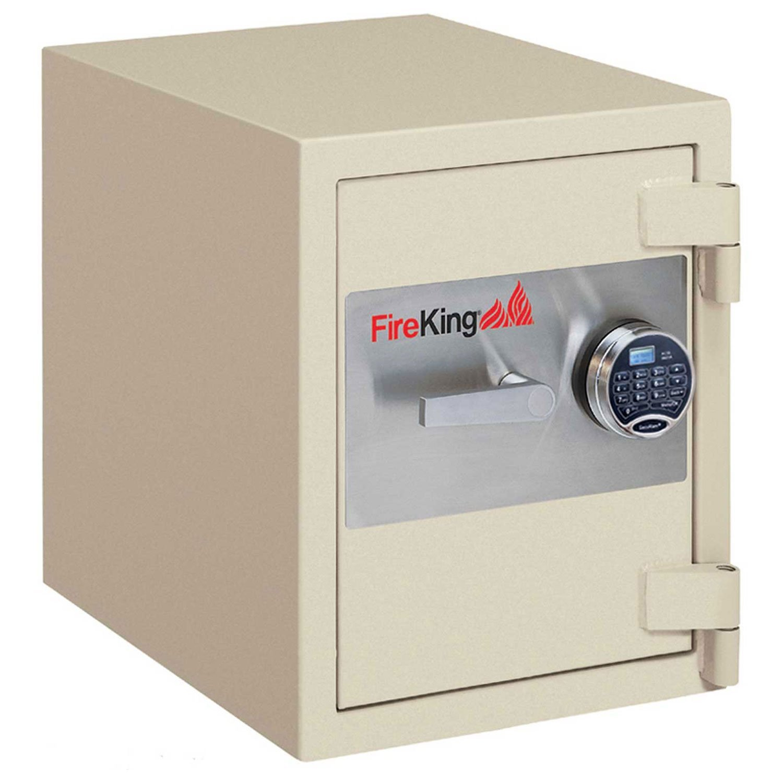 Fireking Fire & Burglary Safe, Combination lock, 27.31'' H x 24.44'' W x 21.63'' D/2.9 cu. ft., Taupe