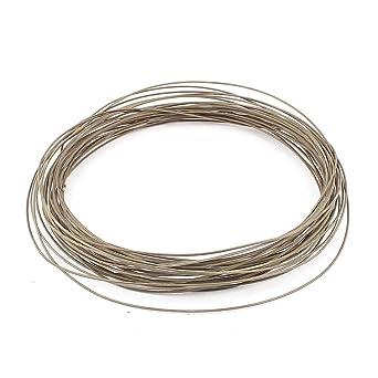Sourcingmap fecral wire 16mm 14 gauge awg 20meter roll heater wire sourcingmap fecral wire 16mm 14 gauge awg 20meter roll heater wire greentooth Images
